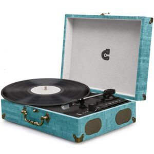 Turntable Record Player Classic Suitcase Portable Record Player