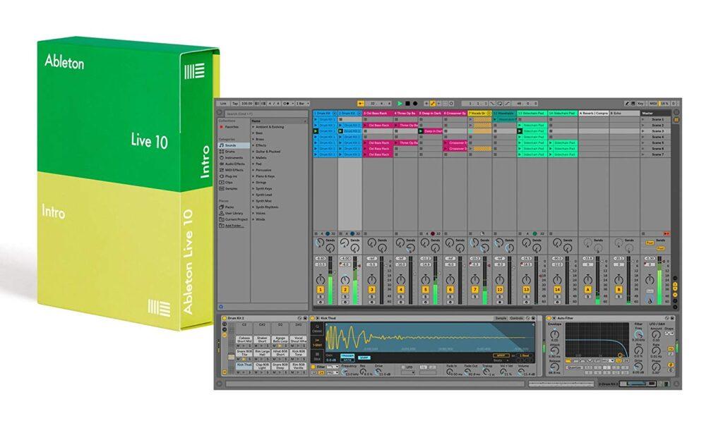 Ableton Multitrack Recording Software