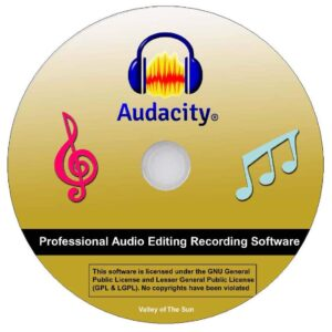 Audacity® Audio Recorder and Editor