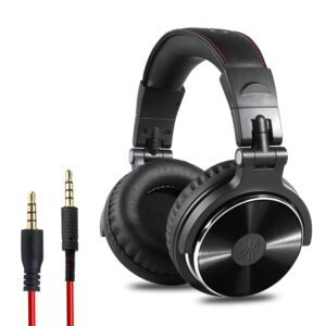 OneOdio adapter free closed back over ear DJ stereo monitor headphones