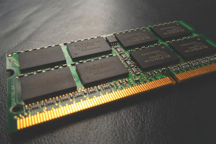 Ram of a laptop