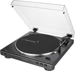 product photo of Audio-Technica AT-LP60X Fully Automatic Belt-Drive Turntable