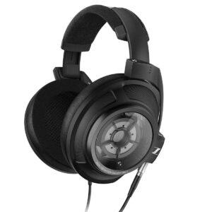 black sennheiser hd headphone